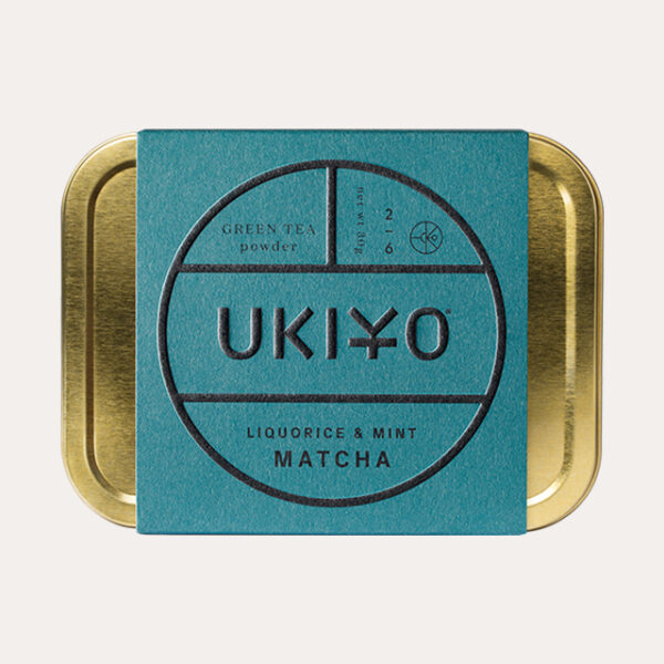 UKIYO licorice and mint matcha