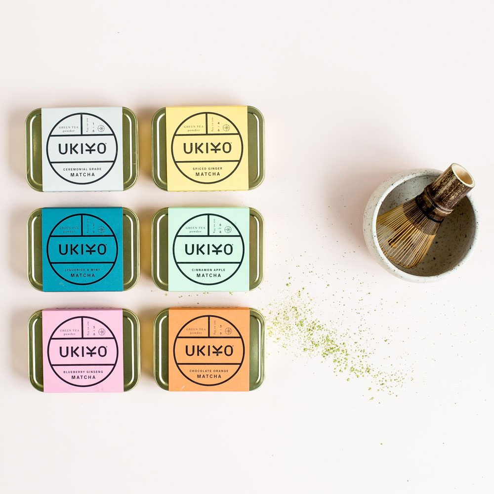 Ukiyo matcha collection