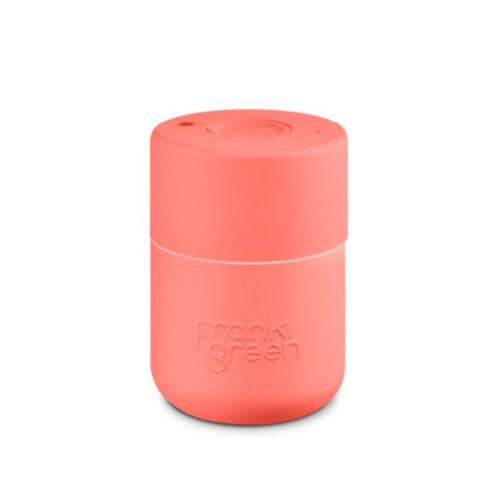 frank green original reusable cup coral