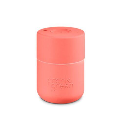 frank green original reusable cup coral