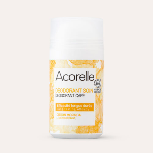 Acorelle Long Lasting Roll On Deodorant Moringa Lemon