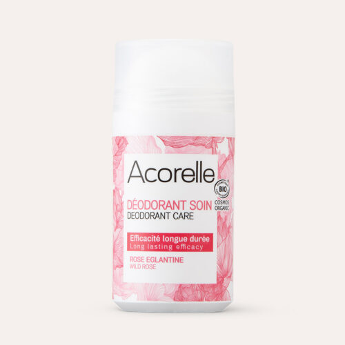 Acorelle Long Lasting Roll On Deodorant Wild Rose