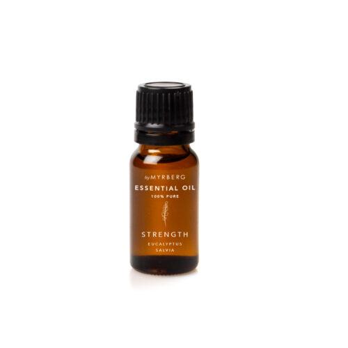 strength eterisk olje med eukalyptus og salvie