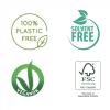 sertifiseringer tek hårbørste vegansk og miljøvennlig