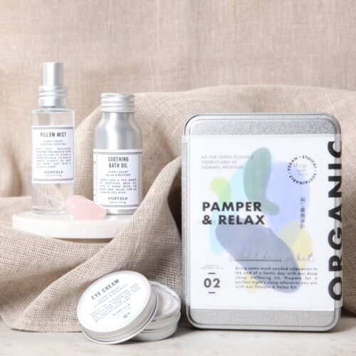 MADE AND SENT Pamper & Relax wellbing kit